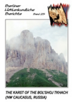 The Karst of the Bol'shoj Tkhach (NW Caucasus, Russia), BHB Vol. 25 - Product Image