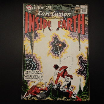Cave Carson's Inside Earth (first issue) - Product Image