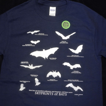 Sky Prints Of Bats Youth Shirt - Product Image