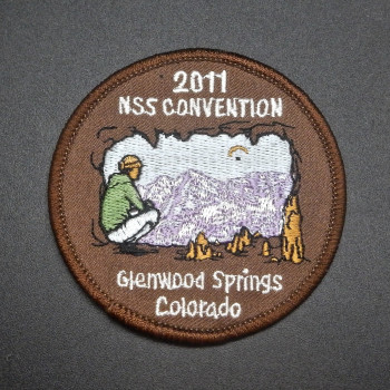 2011 NSS Convention Glenwood Springs CO Patch (or pin) - Product Image