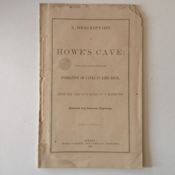 A Description Howe's Cave - Product Image