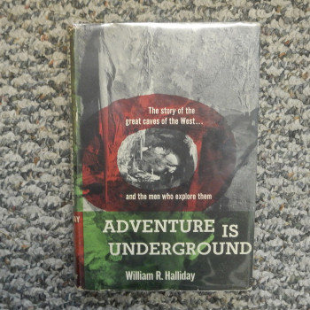 Adventure is Underground by William R. Halliday, HB w/ dj, 1959 - Product Image