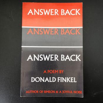 Answer Back a Poem  - Product Image