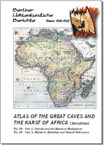 Atlas of the Great Caves and the Karst of Africa BHB volume 68-69 - Product Image