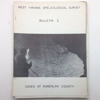 BULLETIN 1-- Caves of Randolph County - Product Image