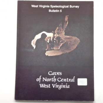 BULLETIN 5  Caves of North Central West Virginia - Product Image