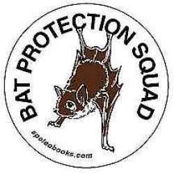 Bat Protection Squad Sticker - Product Image