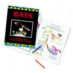 Bats: A Creativity Book for Young Conservationists - Product Image