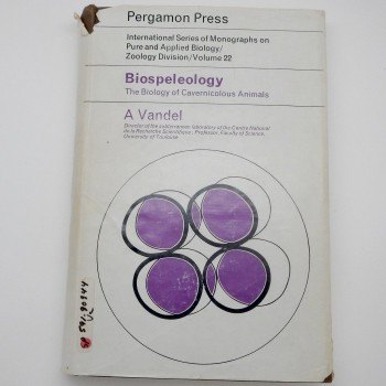 Biospeleology: The Biology of Cavernicolous Animals - Product Image
