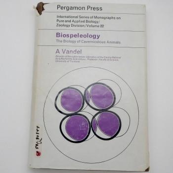 Biospeleology: The Biology of Cavernicolous Animals - Product Image