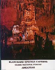 Blanchard Springs Caverns - Product Image