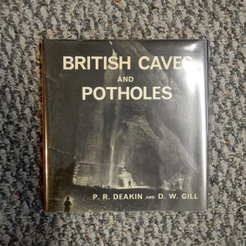 British Caves and Potholes SOLD - Product Image