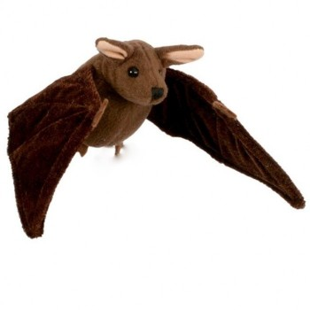 Brown Bat Finger Puppet - Product Image
