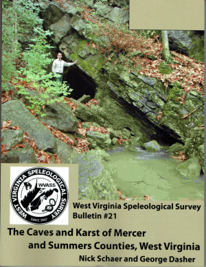 Bulletin 21 -- The Caves and Karst of Mercer and Summers Counties, WV - Product Image