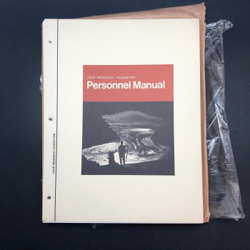 CRF Personel Manuel, 1975 ed. - Product Image