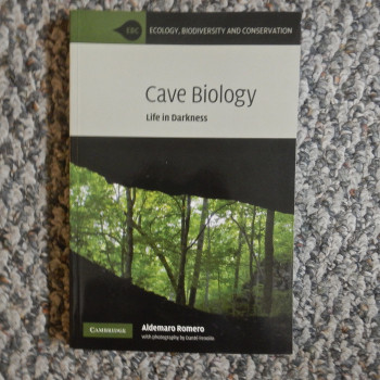 Cave Biology Life In Darkness Romero - Product Image