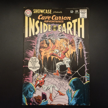 Cave Carson Inside Earth ,The Brave and the Bold Comics, #48 - Product Image