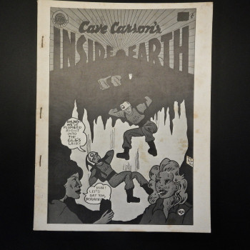 Cave Carson's Inside Earth, 1972 (reprint) - Product Image