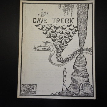 Cave Treck, Whacko Comics - Product Image