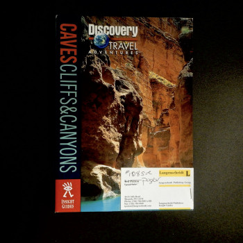 Caves Cliffs and Canyons, Insight Guides, 2000, promotional copy - Product Image