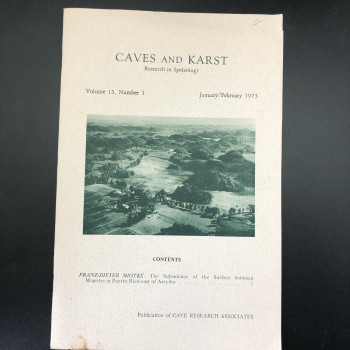 Caves and Kars Vol 15 #1 - Product Image