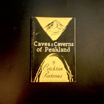 Caves and  Caverns of Peakland by Crichton Porteous, SOLD - Product Image