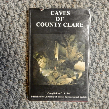 Caves of County Clare, compiled by C.A.Self, autographed & inscribed 15th ICS - Product Image