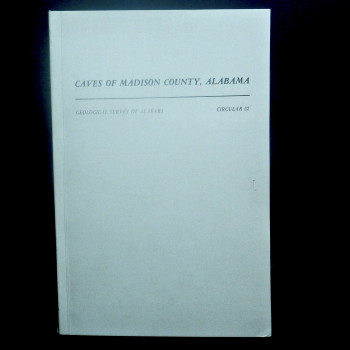 Caves of Madison County Alabama, Circular 52  - Product Image