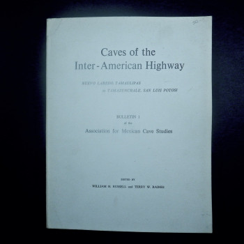 Caves of the Inter-American Highway, Russell, Raines, 1967 (paperback) - Product Image
