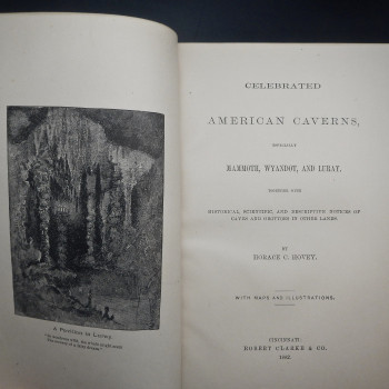 Celebrated American Caverns (Inscribed) - Product Image