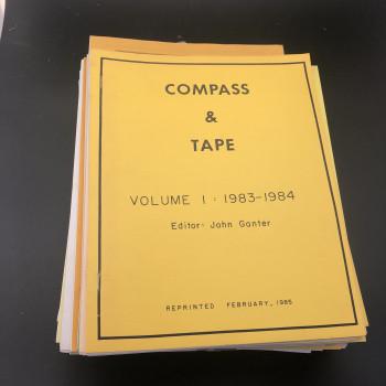 Compass and Tape Vol 1 reprint Vol 2 #1-4 Vol 5 - 10, #1-4 each Vol 11, # 1-2 Vol 12 to 17 # 1-4 each Vol 18 #1 - Product Image