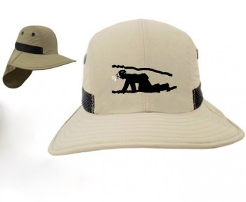 Crawling Caver UV Protection Embroidered Field Hat - Product Image