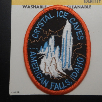 Crystal Ice Caves Patch - Product Image