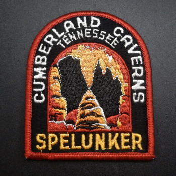 Cumberland Caverns Spelunker Patch - Product Image
