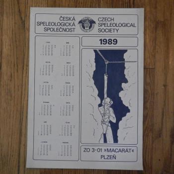 Czech Speleological Society 1989 - Product Image