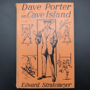 Dave Porter on Cave Island or A Schoolboy's Mysterious Mission - Product Image