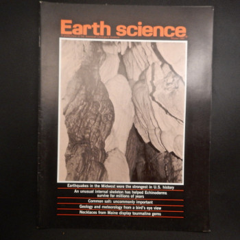 Earth Science Winter 1987.  (Just cover photo) - Product Image