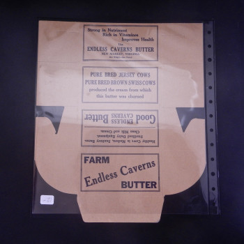 Endless Caverns Butter Box - Product Image