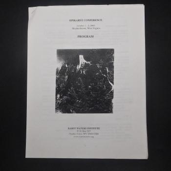 Epikarst Conference, Program, 2003 - Product Image