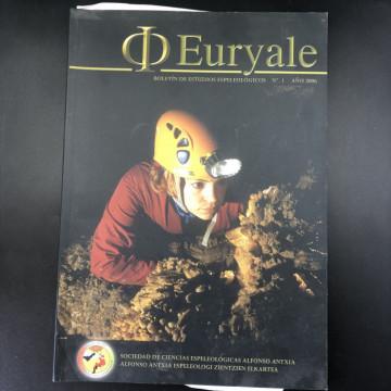 Euryale, Boletin de Estudios Espeleologicos #1 2006 - Product Image