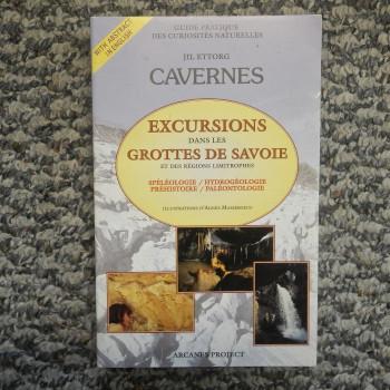 Excursions dans les Grottes de Savoie, by Jil Ettore - Product Image