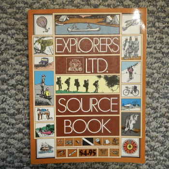 Explorers Ltd. Source Book, First Edition - Product Image