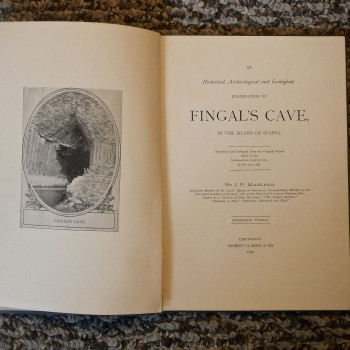 Fingals Cave In The Island Of Staffa - Product Image