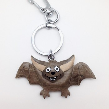 Flying Happy Bat on a swivel clip - Product Image