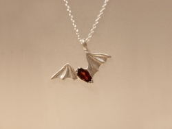 Free-tail Bat Pendant - Product Image