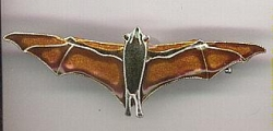 Fruit Bat Pin by Bamboo - Product Image