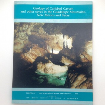 Geology of Carlsbad Cavern and other caves in the Guadalupe Mountains, New Mexico and Texas - Product Image