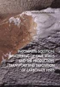 Incomplete Solution: Weathering of cave walls and the production, transport and deposition of carbonate fines - Product Image