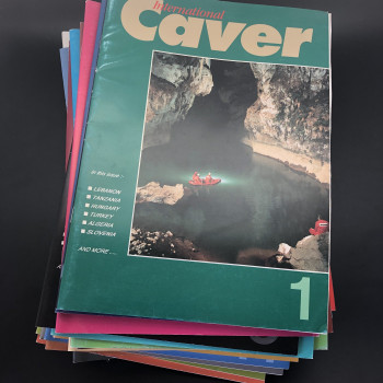 International Caver, #1(1991) to #25, plus annual volumes for 2000, 2001, 2002, 2003.  Shipping cost to be quoted. - Product Image