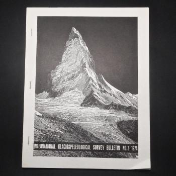 International Glaciospeleological Survey Bulletin No. 3 - Product Image